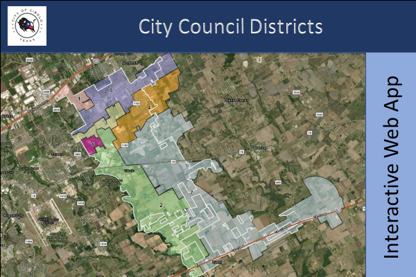 City Council Districts Web App Thumbnail
