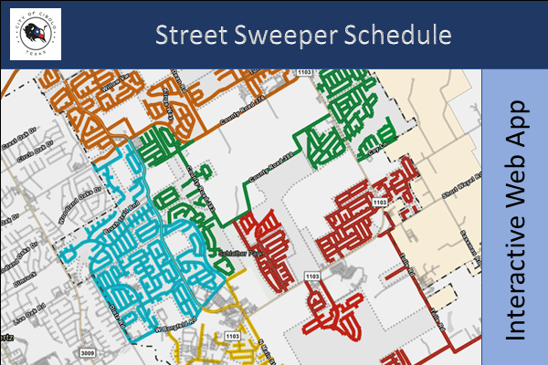 Street Sweeper Schedule Map Thumbnail