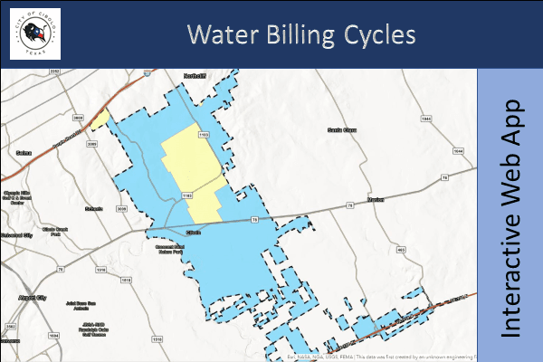 Water Billing Cycles Map Thumbnail