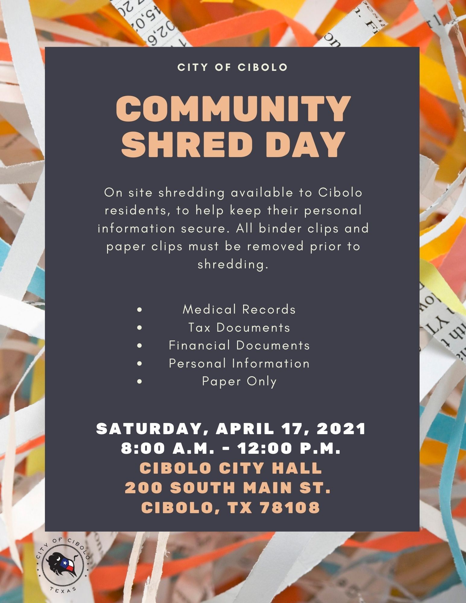 April Shred Day 2019